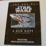 THE ART OF STAR WARS EPISODE IV A New Hope Large book @SOLD@
